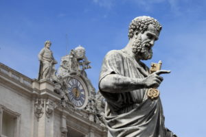 St. Peter with the Keys of the Kingdom, Vatican City